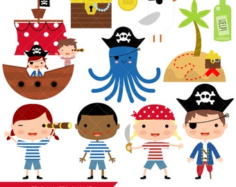 Little Pirates Clipart