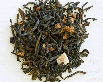 STRAWBERRY PAPAYA SUNSHINE - Organic Loose Leaf Black Tea