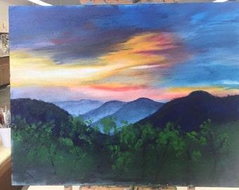 Oil Landscape 22x28