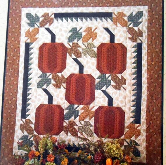 vintage harvest time quilt pattern 64 by 70 cover autumn. Black Bedroom Furniture Sets. Home Design Ideas