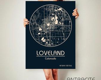 Colorado poster   Etsy