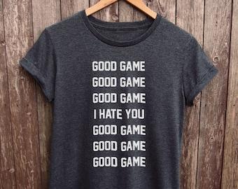 Gamer Shirt Womens - hardcore gamer tshirt, gamer girl tshirt, gamer tumblr shirt, gamer meme tshirt