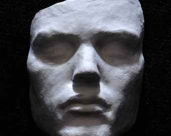 Death Mask Plaster Cast