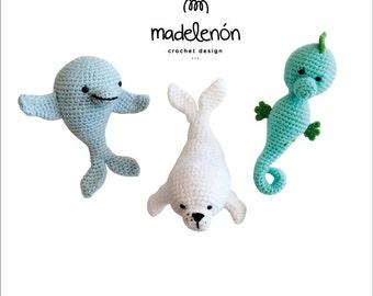 "Madelenón crochet pattern PDF ""My Sea"""