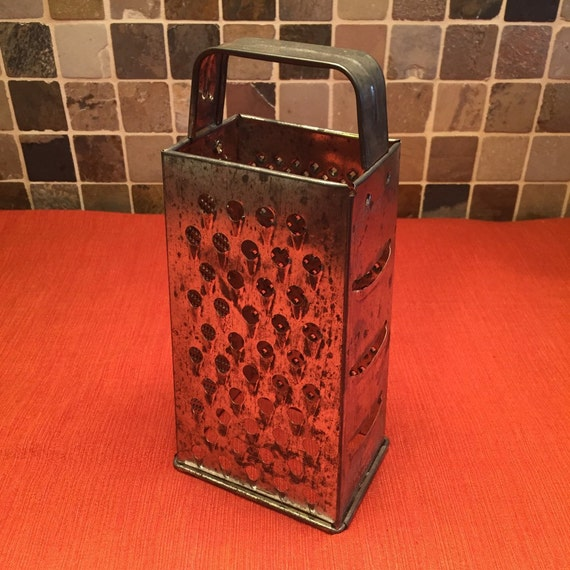 Vintage Cheese Graters Rustic Cheese Graters Vintage