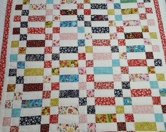 All That Color Organic Baby Quilt