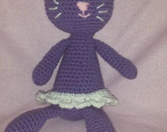 stuffed cat (girl or boy)