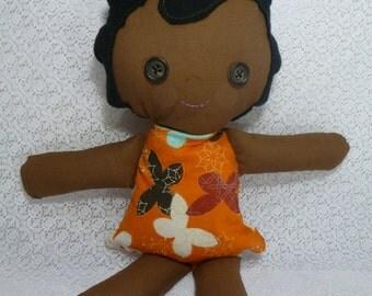 Handmade Rag Doll, Cloth Doll