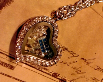 Doctor Who inspired locket