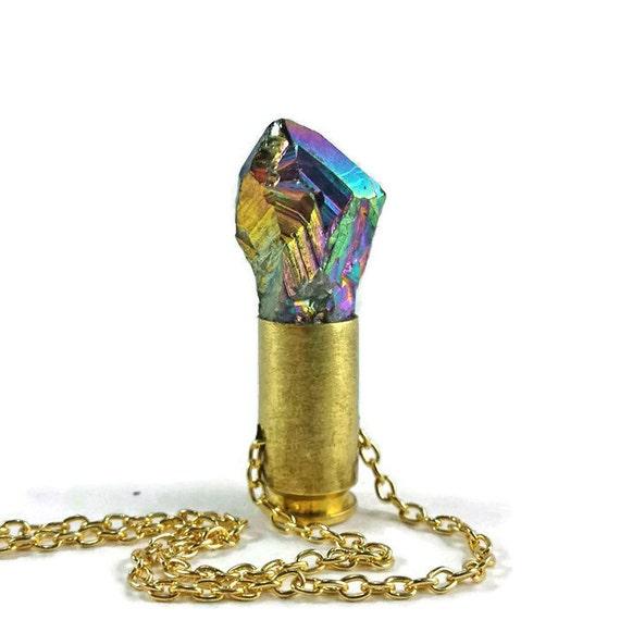 Rainbow Aura Quartz .40 S&W