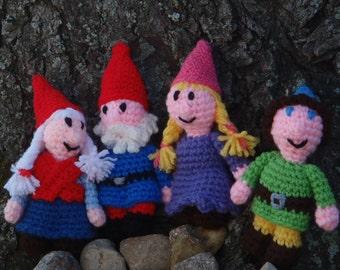 gnome dolls garden gnomes toys handmade woodland forest