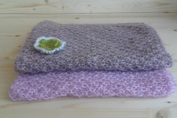 Knitting Pattern For Mohair Blanket : Newborn Blanket Mohair Blanket Knit Newborn by NeringaWorkshop