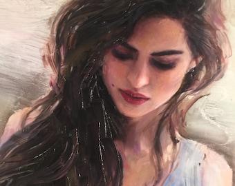 Commission Portrait Custom Original Painting