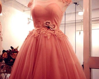 Rosy Pastella wedding / prom / formal dress