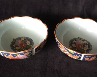 Oriental, Scalloped-edged, Rice Bowls