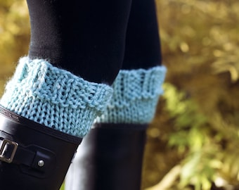 Knitting Pattern - Boot Cuffs // Explore More