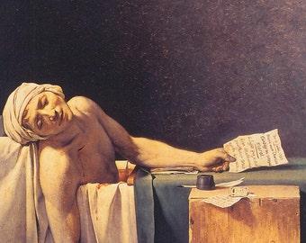 Death of Marat, 1793 -Jacques-Louis David  ***FREE SHIPPING***