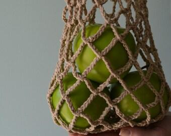 Ecological reserve/natural/bag handbag / bag NET in cotton/cotton/Net/reusable market bag bag bag/Mesh bag/Market bag