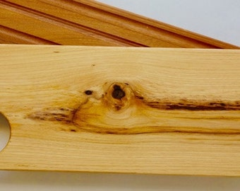 Reclaimed Elm Wood Cutting Board, Cheese Serving Board