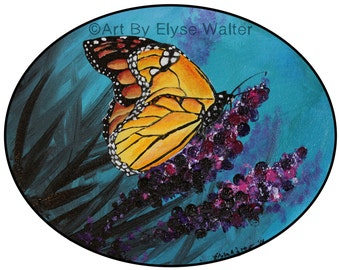 """8""""x10"""" or 11""""x14"""" print, Monarch Butterfly"""
