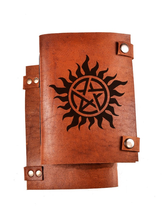 Anti Possession Notebook Supernatural Notebook Anti Possession
