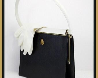 Vintage Vinyl Handbag, Vintage Handbag, Vintage Vinyl Purse,Vintage Purse, Vintage Kelly Bag,Vintage Vinyl Kelly Bag,Vintage Pocketbook