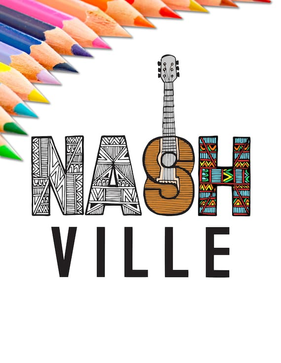 nashville tennessee coloring pages - photo#44