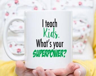 Teacher Gift, Teacher Mug, Teacher Coffee Cup, Daycare Provider Gift, Daycare Mug, It Takes a Big Heart to Teach Little Minds, Best Teacher