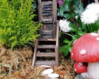 Magical stairway fairy door