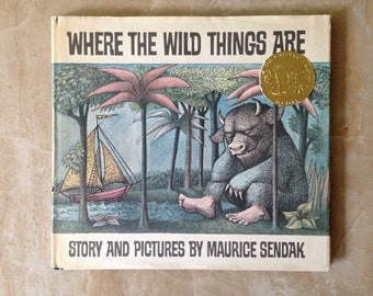 """First Edition of """"Where The Wild Things Are"""""""