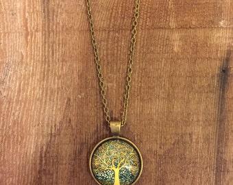 Joshua Tree Pendant on a Copper Chain