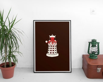 The Ooodaalek- A Doctor Who Poster: Matte or Giclee print in A3 or A2 sizes