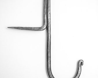 Blacksmith - Steel Beam Hook - Handmade