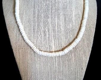 White Puka Shells
