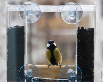 """Window bird feeder """"Elbrus"""""""