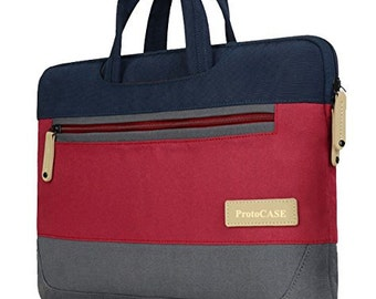 """15-Inch [2 in 1] Customizable Classic / Vintage Laptop Sleeve Bag Case for MacBook Pro 15"""" ProtoCASE"""