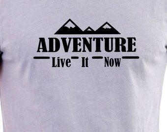 Adventure print T-shirt