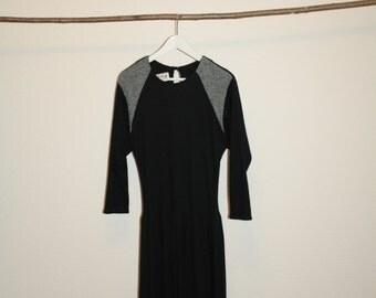 black flapper dress 20ies