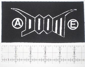 Doom Patch -DIY Crust Anarcho Punk D-Beat Anti Cimex Nausea Disrupt Discharge Amebix Extreme Noise Terror Antisect Disclose Aus-rotten Filth