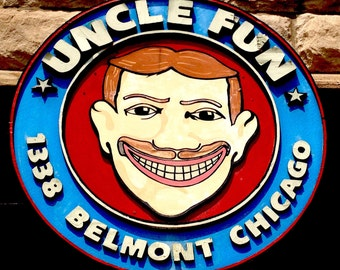 Uncle Fun Chicago Photographic Print