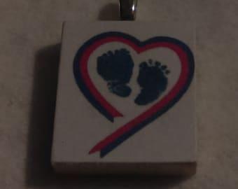 Pregnancy/Infant Loss Scrabble Tile Charm
