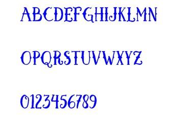 Fancy Font Medieval
