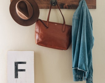 Rustic Coat Rack - Small
