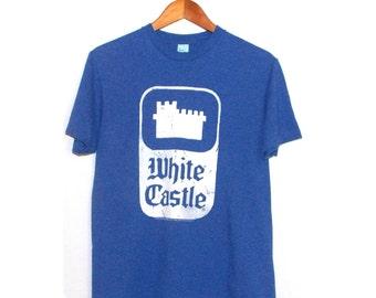 White Castle Medium Blue Shirt