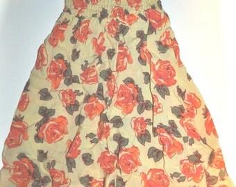 6-12M Floral Maxi Skirt