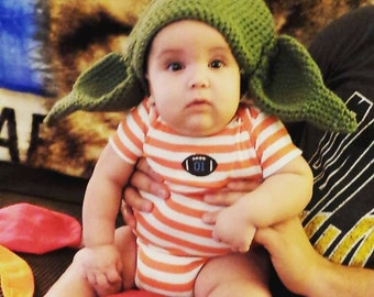 Handmade Yoda Hat