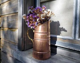 Copper - Copper pitcher - copper Decoration - decoration Copper pitcher