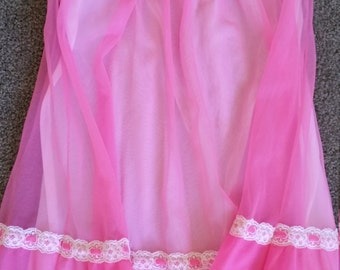 60's Baby Doll vintage nightgown