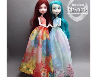 MH twin lace dress (option 2)