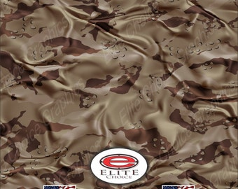 "Desert CL 15""x52"" or 24""x52"" Truck/Pattern Print Tree Real Camouflage Sticker Roll or Sheet"